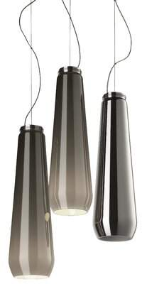 """Foscarini Diesel Living With 3 - Light Cluster Bell Pendant Diesel Living With Cable Length: 200"""""""