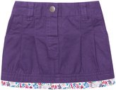 Jo-Jo JoJo Maman Bebe Twill Mini Skirt (Baby) - Mulberry-12-18 Months