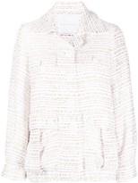 Giada Benincasa tweed flap pocket jacket