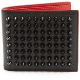 Christian Louboutin Kaspero spike-embellished leather wallet