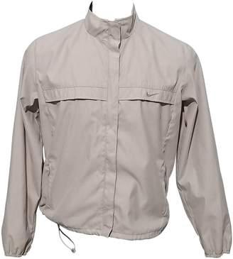Nike Beige Cotton Jacket for Women
