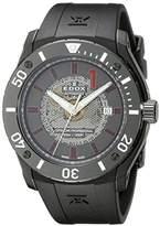Edox Men's 80088 37N NRO2 Chronoffshore Analog Display Swiss Automatic Black Watch