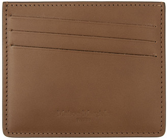 Maison Margiela Black and Brown Classic Card Holder