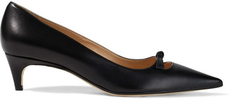 Sergio Rossi Isobel Knotted Leather Pumps