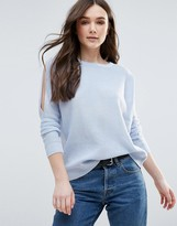 Brave Soul Cold Shoulder Sweater