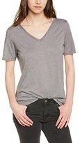 Vero Moda Women's Plain or unicolor Short sleeve Vest - Grey - 8