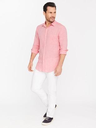 J.Mclaughlin Gramercy Classic Fit Linen Shirt