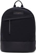 WANT Les Essentiels Navy Canvas Kastrup Backpack
