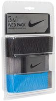 Nike Men's 3-in-1 Golf Web Belt Pack