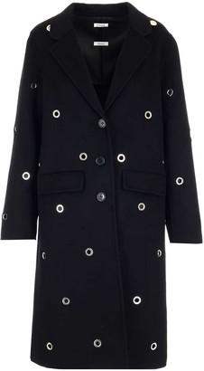 P.A.R.O.S.H. Eyelet Embellished Coat