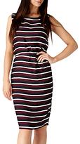 Sugarhill Boutique Dessie Stripe Shift Dress, Navy
