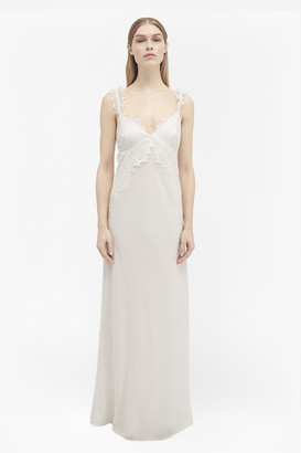 French Connection Georgiana Lace Slip Maxi Dress