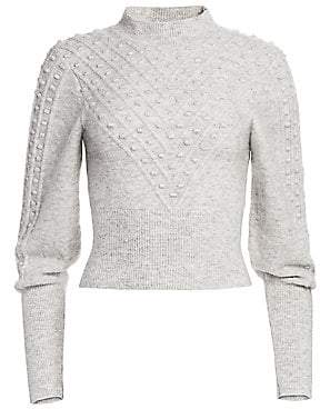 The Kooples Women's Fantasy Point Textured Sweater