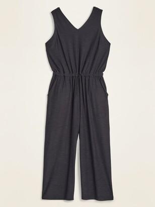 Old Navy Breathe ON Plus-Size Sleeveless Jumpsuit