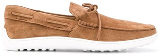 Tod's Rubber Sole Boat Shoes