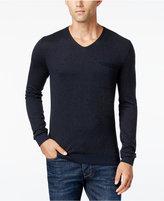 HUGO BOSS Orange Men's Kerpen V-Neck Sweater
