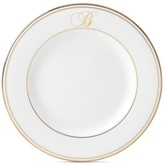 Lenox Federal Gold Monogram Script Salad Plate