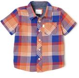 Cherokee Plaid Short Sleeve Shirt
