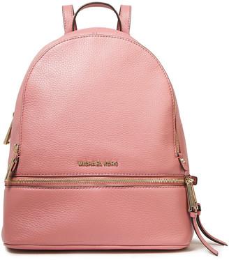 MICHAEL Michael Kors Pebbled-leather Backpack
