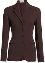 The Row Risa Wool-Blend Jacket