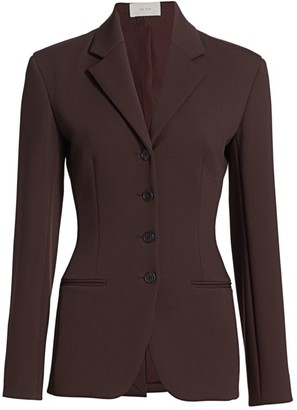 The Row Risa Wool-Blend Jacket