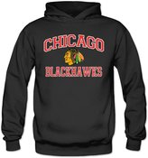 ERICP Women's Majestic Chicago hawks Heart & Soul Hoodie XL