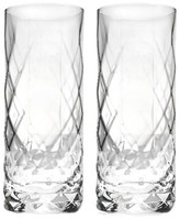 True Fabrications Set Of 2 Highball Glasses