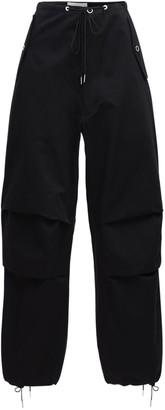 Dion Lee Cotton Twill Parachute Cargo Pants
