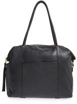 Hobo 'Porter' Leather Tote - Black