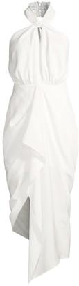 Calypso Draped Halter Dress