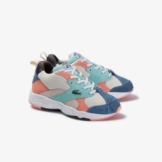 Lacoste Women's Storm 96 Textile and Suede Sneakers