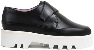Unreal Fields Wrap Up - Black Leather Platform Creepers
