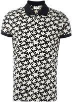 Saint Laurent star print polo shirt - men - Cotton - L