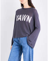 Wildfox Couture Yawn Blyth cotton-blend jumper