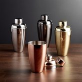 Crate & Barrel Stainless Steel Cocktail Shakers