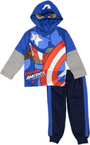 Children's Apparel Network Captain America Hooded Tee & Sweatpants - Toddler