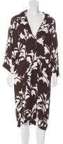 Prada Abstract Print Knit Dress