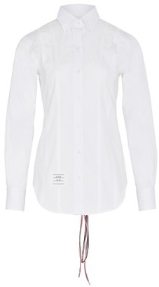 Thom Browne Lace-up shirt