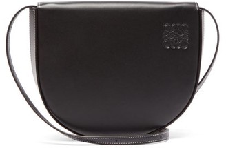 Loewe Heel Mini Leather Cross-body Bag - Black