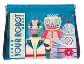 Charlotte Olympia Your Robot Maggie Clutch