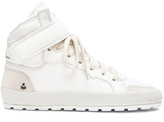 Etoile Isabel Marant Bessy Hip Hop Leather Sneakers