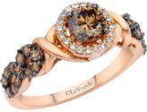 LeVian Le Vian Chocolatier 14K Rose Gold 0.94 Ct. Tw. Diamond Ring