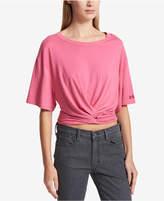 DKNY Twist-Front T-Shirt