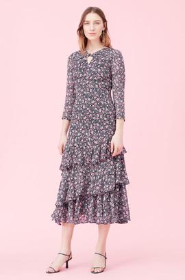 Rebecca Taylor Twilight Bloom Clip Dress