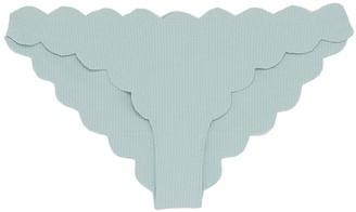 Marysia Swim 'Antibes' scalloped bikini bottoms
