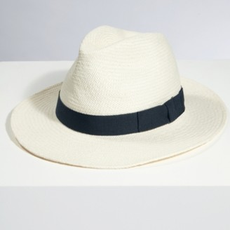 The White Company Christys Panama Hat , Navy, One Size
