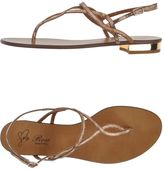 Rose Toe strap sandals