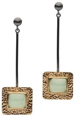 Donatella Balsamo Jewellery Sardinia Chalcedony Earrings
