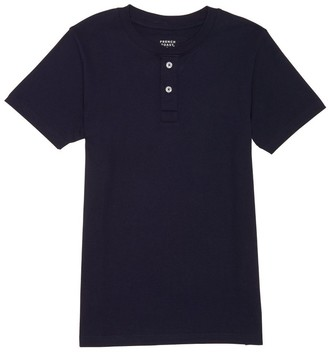 French Toast Men's Short Sleeve Henley