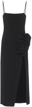 Magda Butrym Wool-blend slip dress